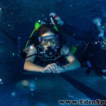 15 czerwca 2011 Pokazy nurkowania na basenie w Goczałkowicach