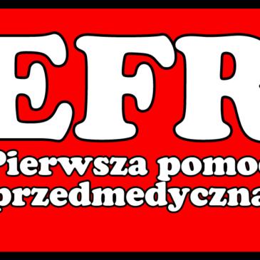 19.03.2019 – Szkolenie Emergency First Response (EFR) – Pierwsza pomoc przedmedyczna