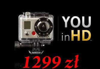 od 25.07.2011 – PROMOCJA! Kamery GoPro w zestawie 1299 zł.