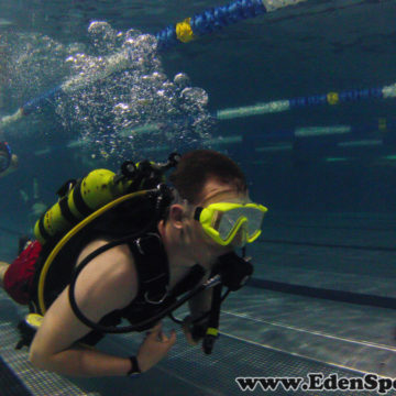 EdenSport – Pokazy nurkowania basen AQUA 31.05.2016