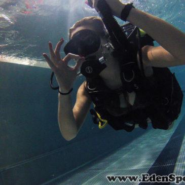 1 czerwca 2011 – interaktywne pokazy nurkowania na basenie AQUA w Bielsku-Białej