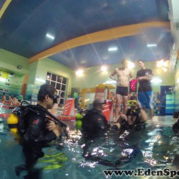 EdenSport – Pokazy nurkowania 8.12.2014