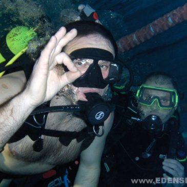 18.01.2012 – Bezpłatne nurkowanie na basenie w Goczałkowicach