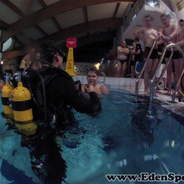 28.01.2015 – Pokazy nurkowania na basenie w Czechowicach
