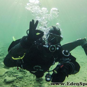 21.12.2014 – Klubowe nurkowanie na Zakrzówku