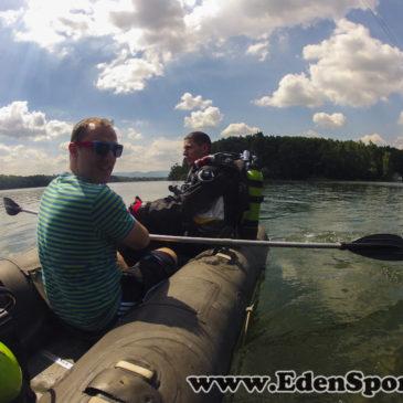 16.06.2014 – Jezioro Těrlicko – poszukiwania kamery