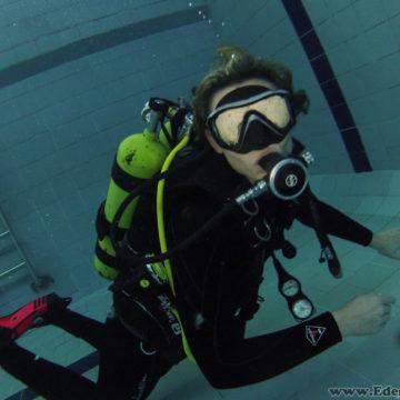4.11.2017 – Klubowe nurkowanie na basenie