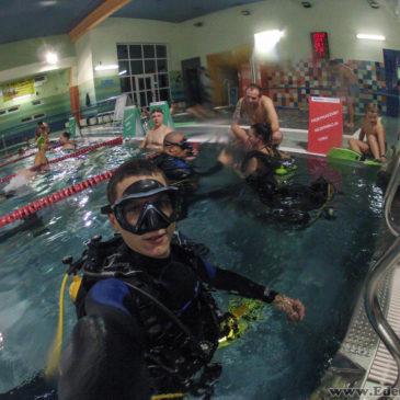 3.11.2017 – Pokazy nurkowania na basenie AQUA
