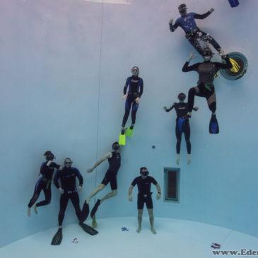 8.10.2018 – Freediving w 7 metrowej tubie Aquadrom