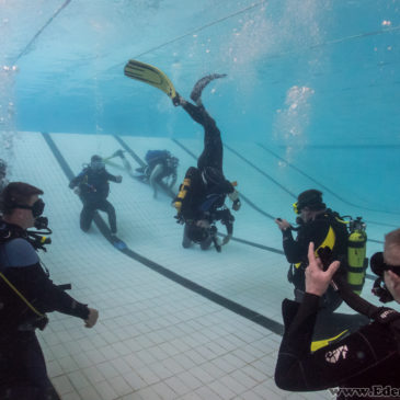 19.05.2018 – Ćwiczenia basenowe kursu OWD oraz ratownictwo P-1
