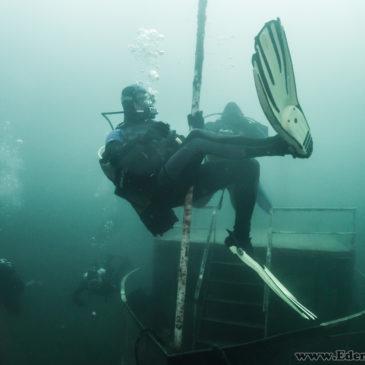 Klubowe nurkowanie na Koparkach – 5.06.2017