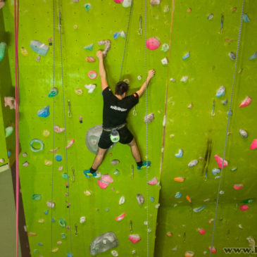 17.01.2019 – Klubowy event – ścianka wspinaczkowa z EdenSport