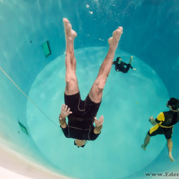 30.12.2018 – Trening freedivingu w 7 metrowej tubie