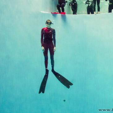 3.02.2019 – Freediving w 7 metrowym basenie tubie