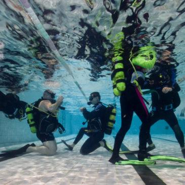 8.02.2019 – Basenowe warsztaty nurkowania podpalmowego
