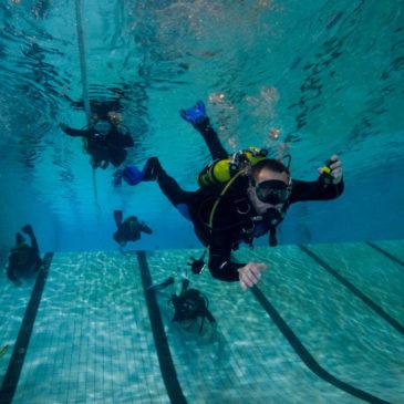 15.03.2019 – Praktyka basenowa kursu P-1 CMAS