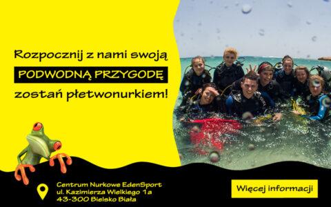 Podstawowy kurs nurkowania w Bielsku-Białej