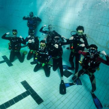 29.02.2020 – Zajęcia basenowe podstawowego kursu nurkowania