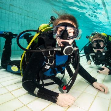 7.03.2020 – Zajęcia basenowe kursu nurkowania
