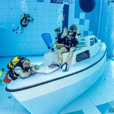 Jednodniowy wyjazd do DeepSpot – najgłębszego basenu na świecie