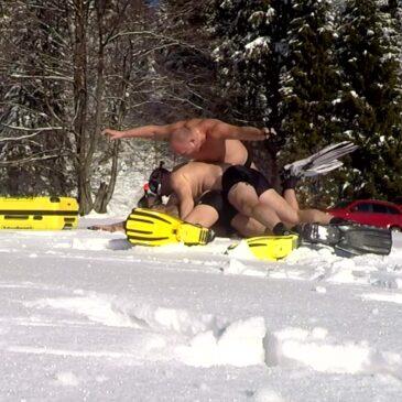 Kanapka na śniegu – Śnieżne pantery EdenSport :D