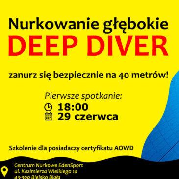 29.06.2021 – Deep Diver – szkolenie z nurkowania głębokiego (40 metrów)