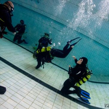 20.07.2021 – nurkowanie na basenie z kursem podstawowym