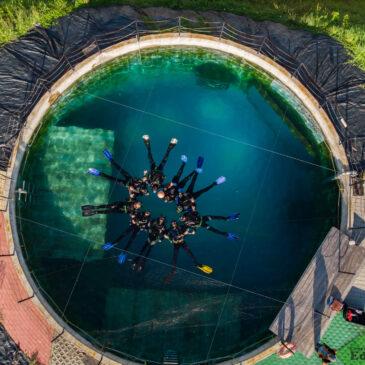 27.08.2021 – Zajęcia kursu podstawowego na zbiornikach nurkowych