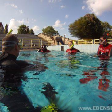 11 lipca 2011 – Rozpoczęcie podstawowego kursu nurkowania CMAS P1