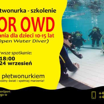 Kurs nurkowania dla dzieci 10-15 lat – Zostań płetwonurkiem z EdenSport!