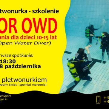 8.10.2020 – Kurs nurkowania dla dzieci 10-15 lat – Zostań płetwonurkiem z EdenSport! :)