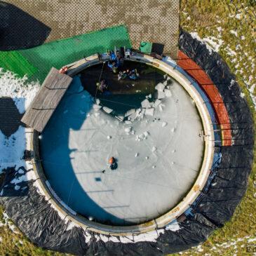 21.02.2021 – Zbiorniki Pszczyna pod lodem