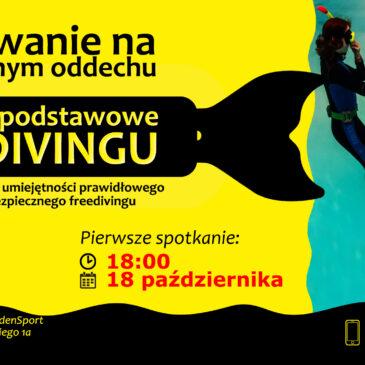 18.10.2021 – Freediving – kurs bezpiecznego nurkowania na zatrzymanym oddechu
